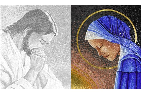 Madonna in preghiera