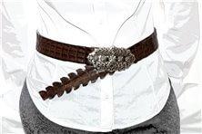 "Women's belt ""Doris Marrone"""
