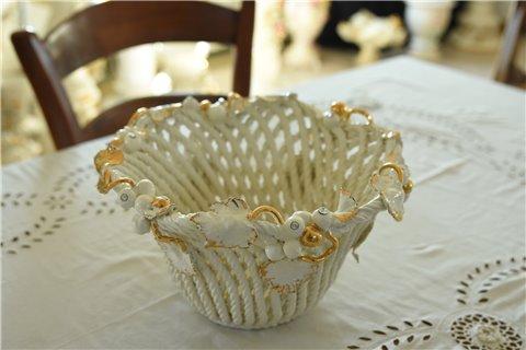 Portafrutta in ceramica