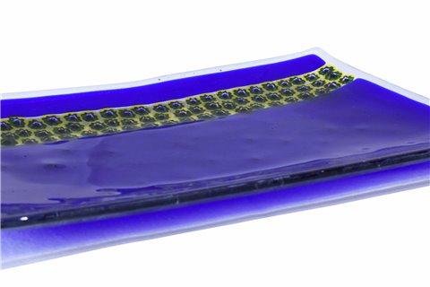 Vide-poches rectangulaire blue