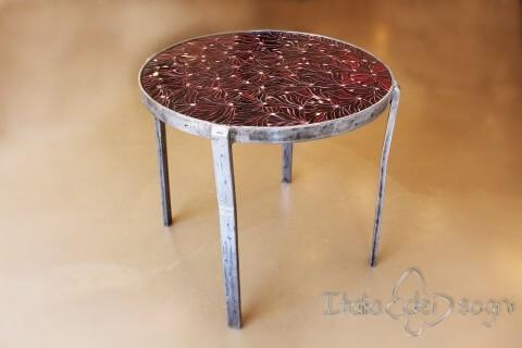 Tavolino tondo