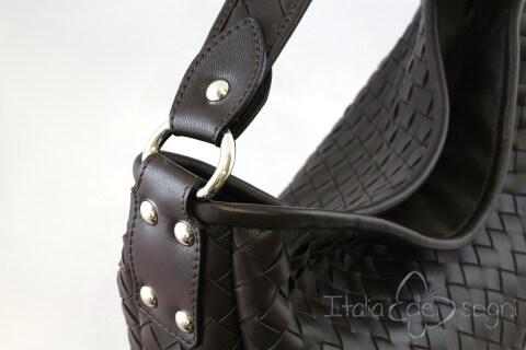 """Braided """"clutch"""" bag"""