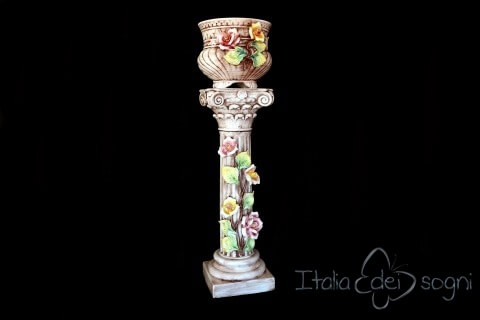 Colonna con vaso