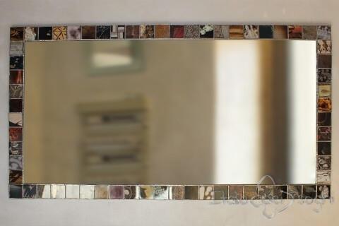 Specchio rettangolare Tiffany