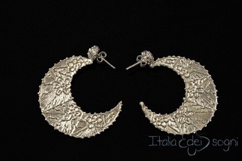 Orecchini tradizionali abruzzesi in argento