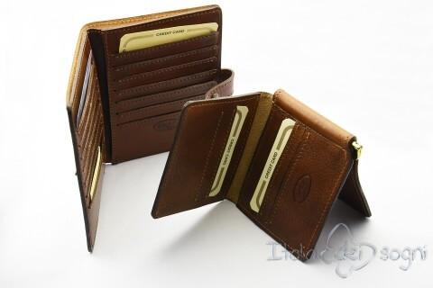 Portacarte e porta dollari