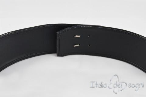 Women's belt in soft Nappa