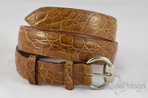 Women's  ostrich belt