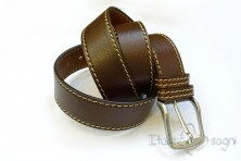 "Men's belt ""Tancredi marrone"""