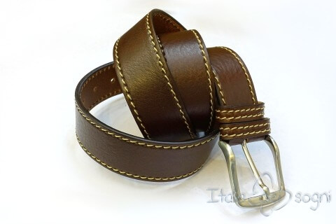 "Men's belt ""Tancredi marrone"""