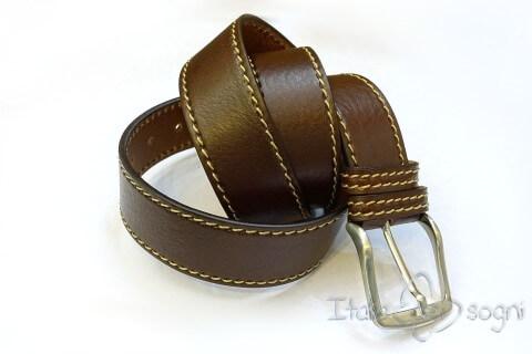 """Cintura da uomo """"Tancredi marrone"""""""