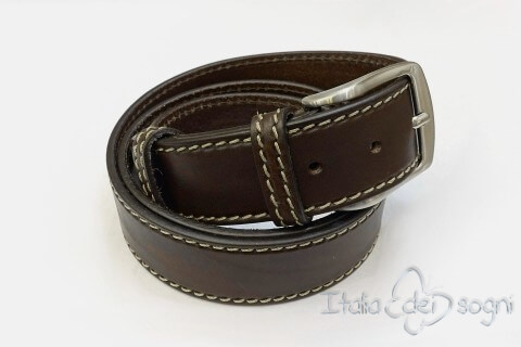 "Men's belt ""Tancredi moro"""