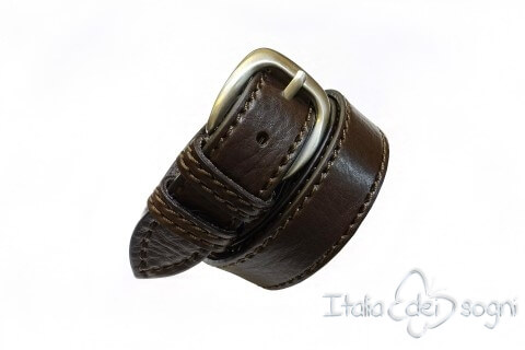 "Men's belt ""Tobia marrone"""