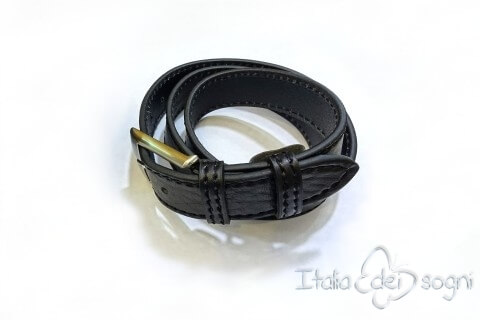 "Men's belt ""Tobia nero"""
