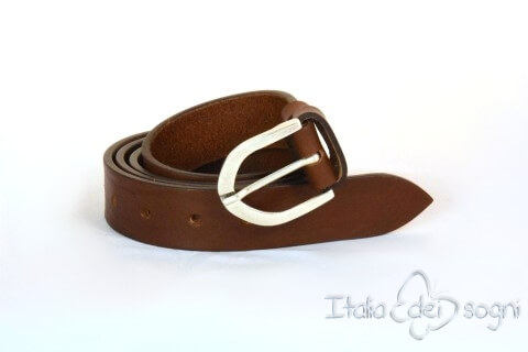 "Men's belt ""Zeno marone"""