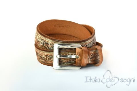 "Men's belt ""Tex marrone"""