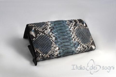 "Women's wallet ""Ninfa roccia azzurra"""