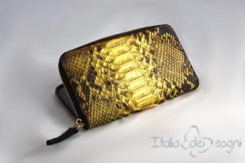 """Women's wallet """"Nives giallo"""""""