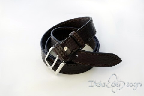 "Men's belt ""Tobia nero"""