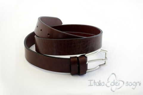 "Men's belt ""Vito marrone"""