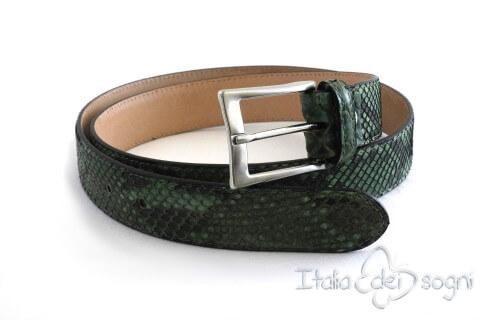 "Unisex belt ""Alexia blu"""