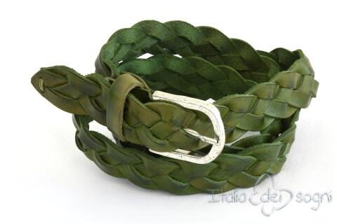 "Cintura unisex ""Ennio verde"""