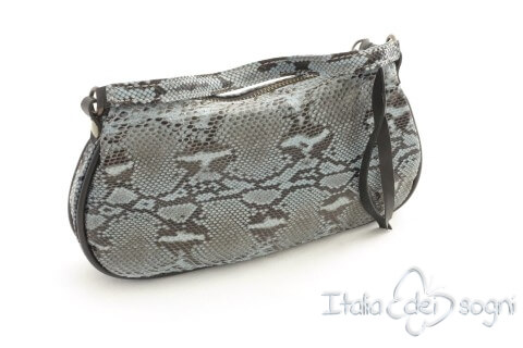 "Women's clutch bag ""Altea azzurro"""