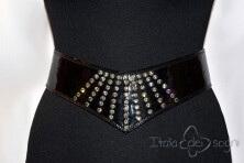 Women's evening  bustier belt