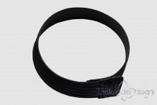 Women's  bustier belt in calfskin leather