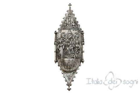 """Altarpiece"" holy water font"