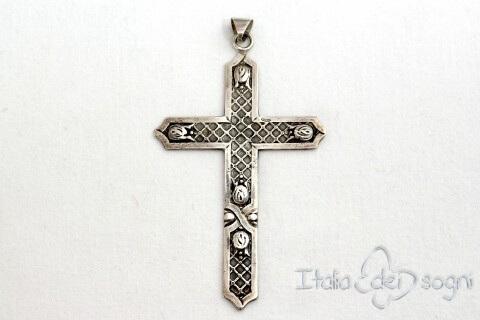 """Divine bow"" Cross"