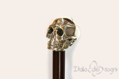 """Skull"" Stick - Brown"