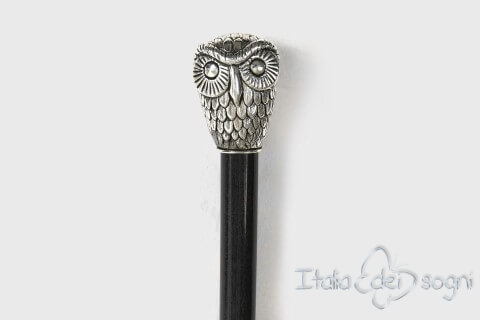 "Stick ""Alps' owl"" - Black"