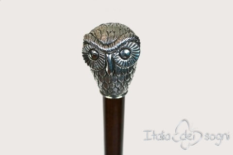 "Stick ""Alps' owl"" - Brown"