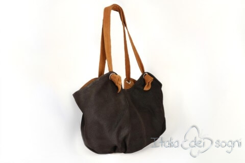 "Shopper ""Tosca cognac"""