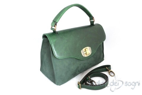 "Bowler bag ""Veronica muschio"""