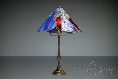 """Lampada da tavolo """"Buganvillea Bluette"""""""