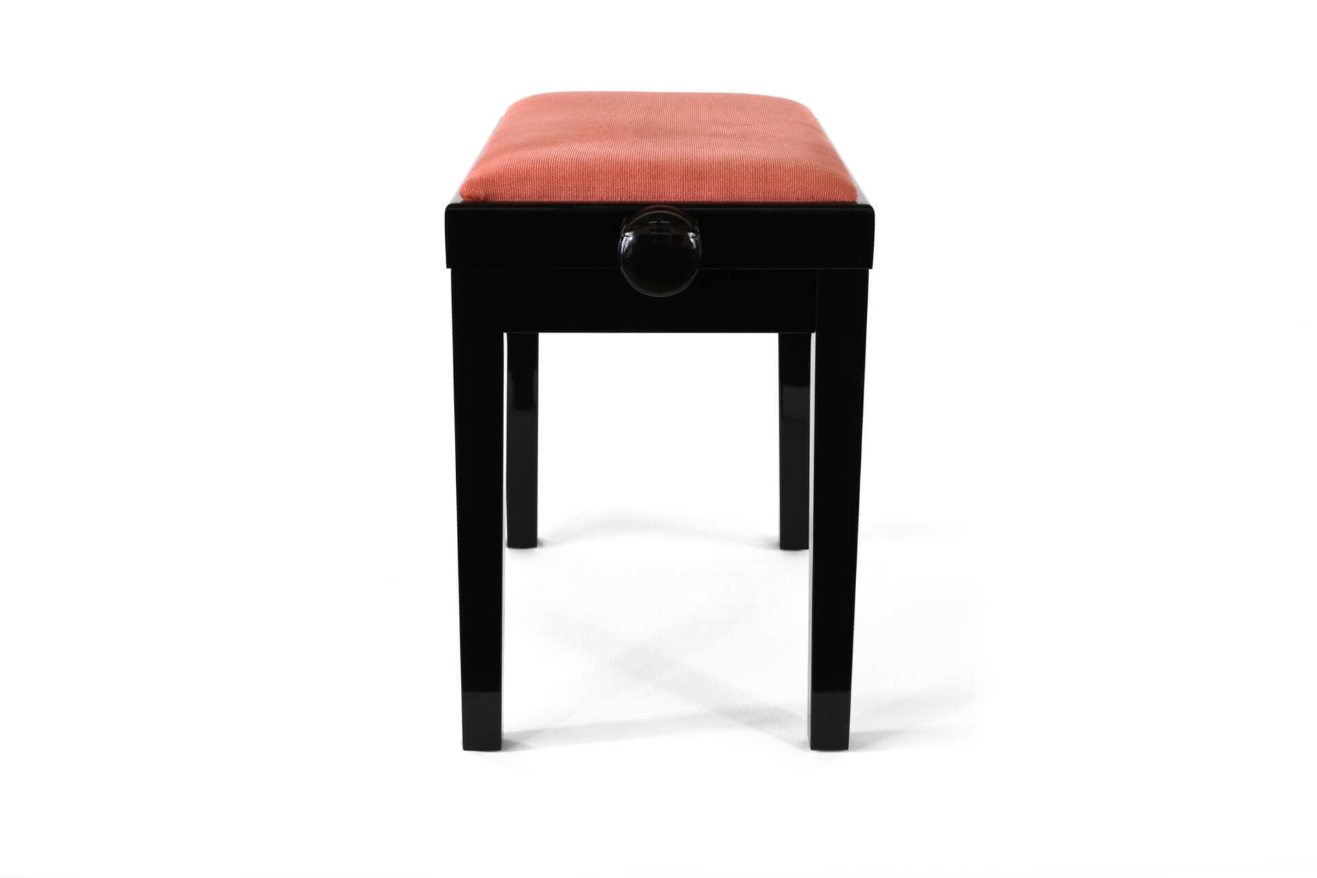 tabouret de piano rossini velours rose. Black Bedroom Furniture Sets. Home Design Ideas