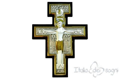 Croce di San Damiano in argento