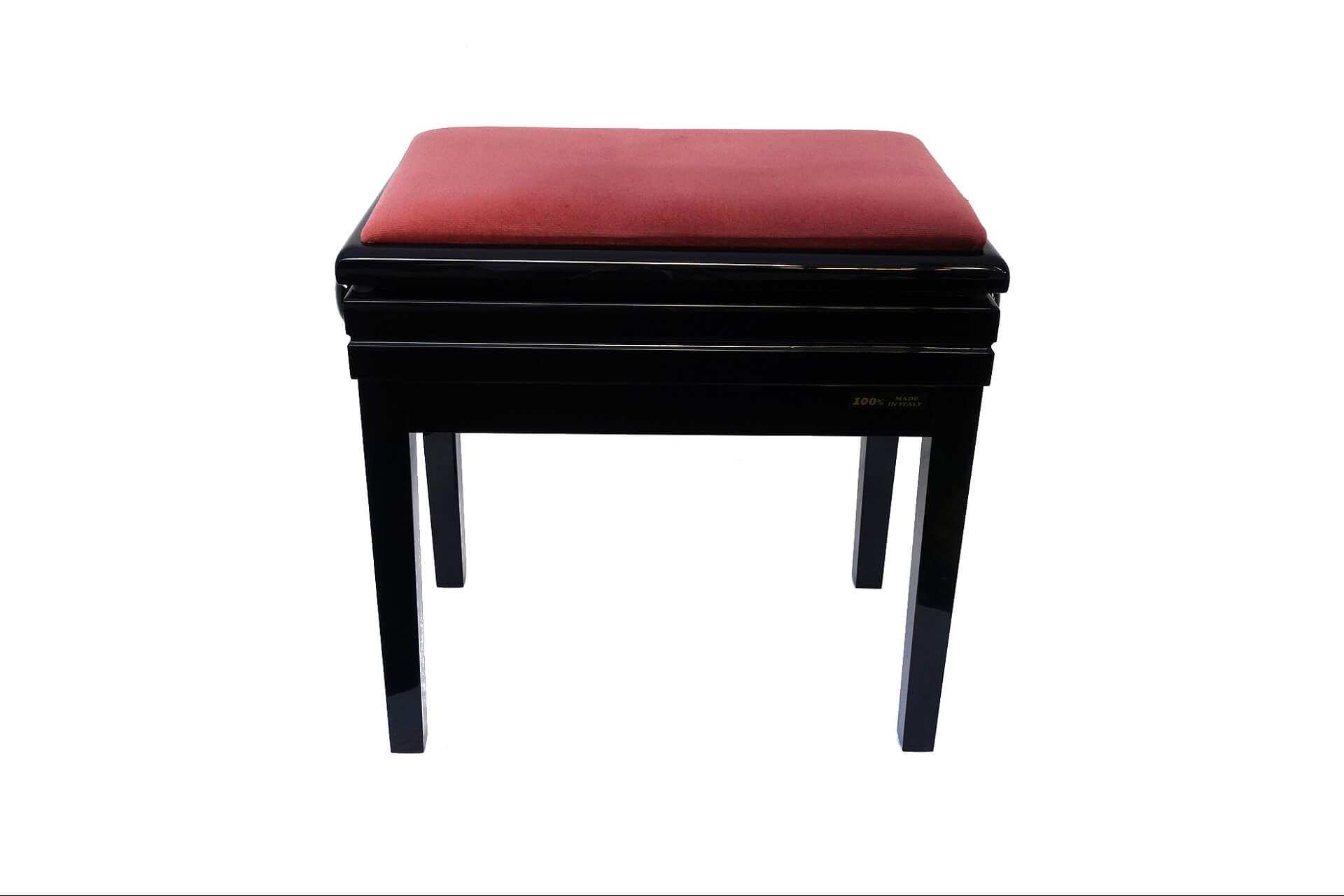 tabouret de piano verdi velours rose. Black Bedroom Furniture Sets. Home Design Ideas