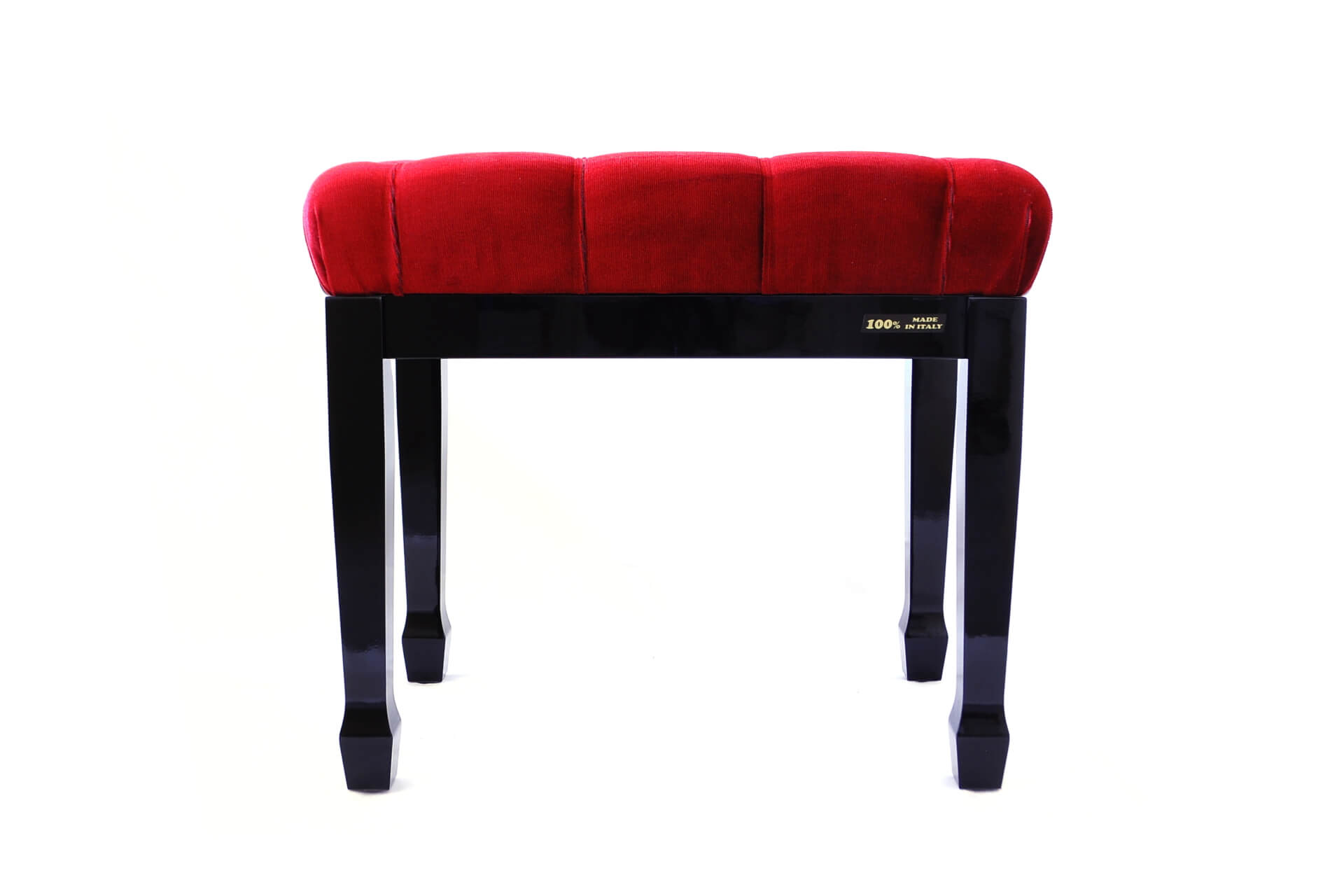 Bench For Concert Piano Puccini Red Velvet