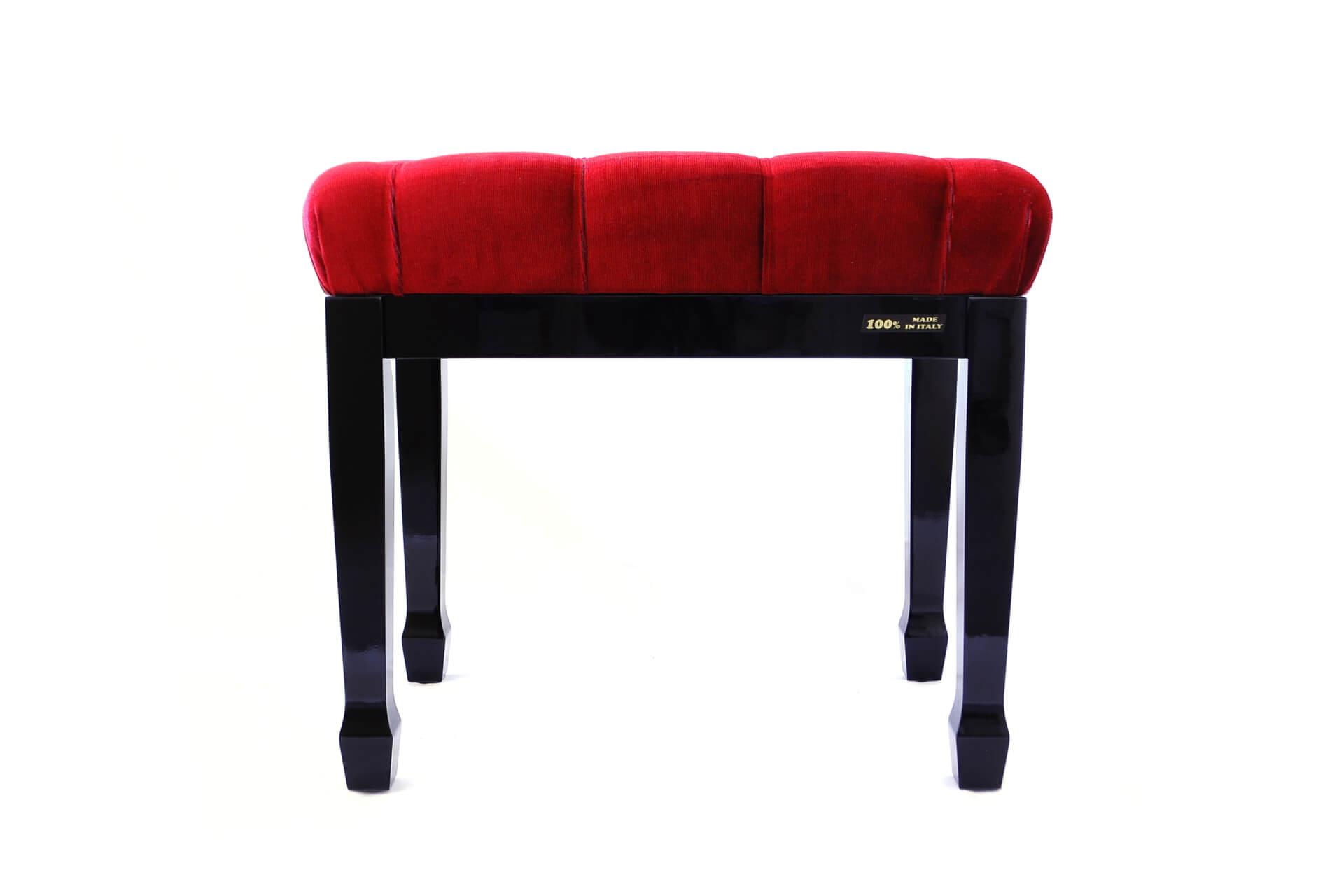 tabouret de piano de concert puccini velours rouge. Black Bedroom Furniture Sets. Home Design Ideas