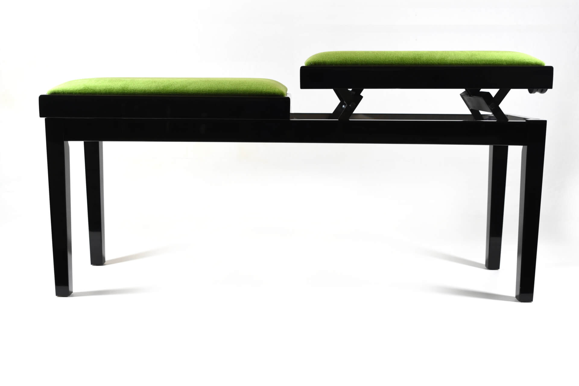 Amazing Bench For Piano Mascagni Green Velvet Machost Co Dining Chair Design Ideas Machostcouk