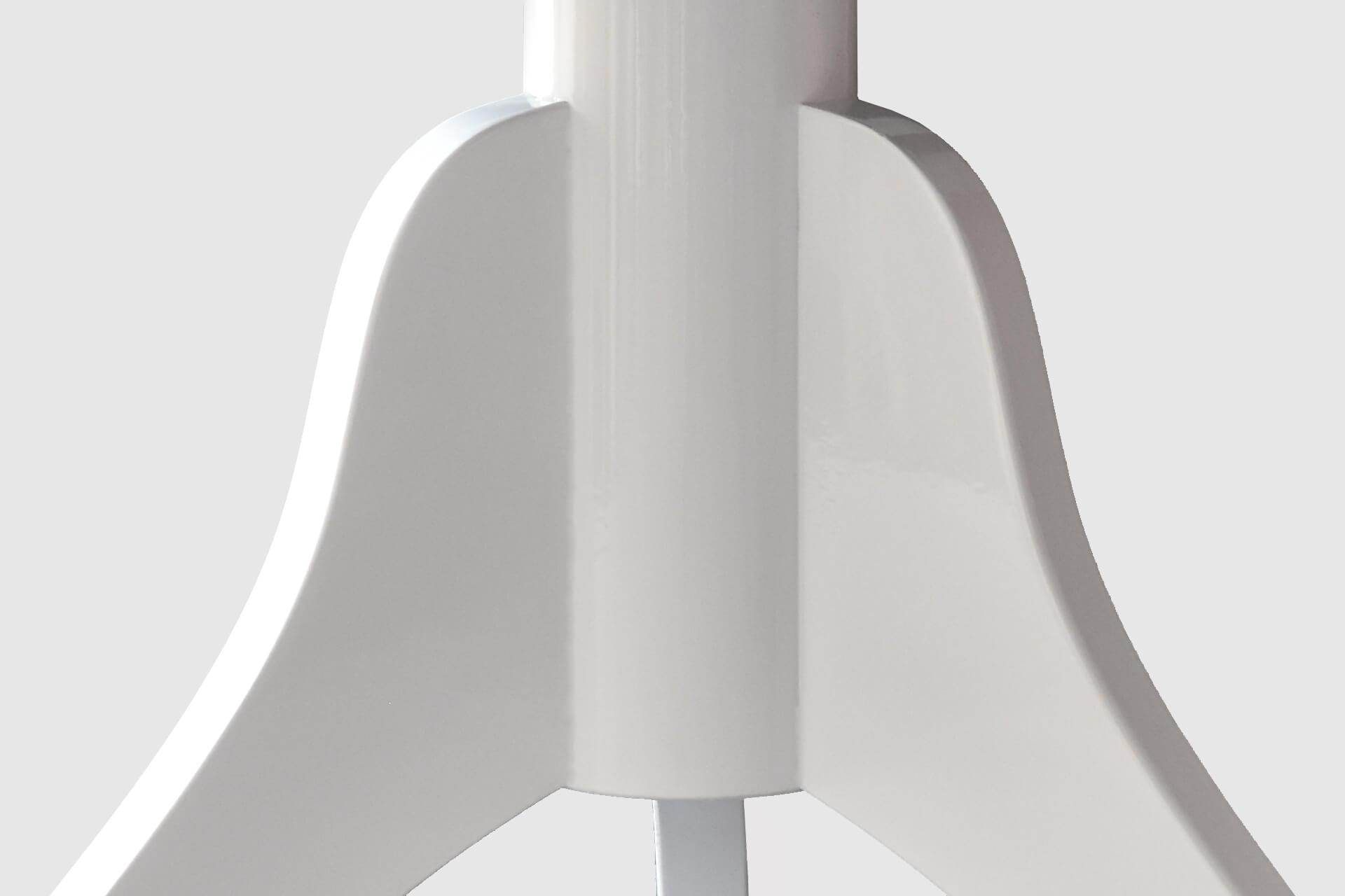 Sgabello per arpa a tre gambe u201ctartiniu201d velluto blu colore legno