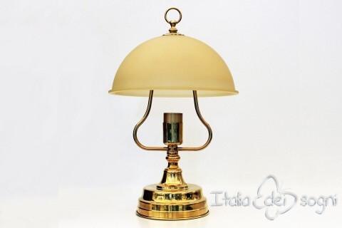 Collo lampada da tavolo nera dimmerabile touch dimmer led w