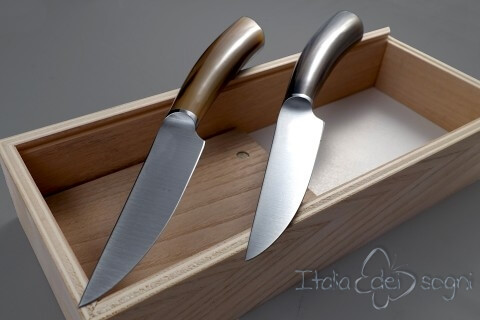 2-piece ox Rustic steak knives