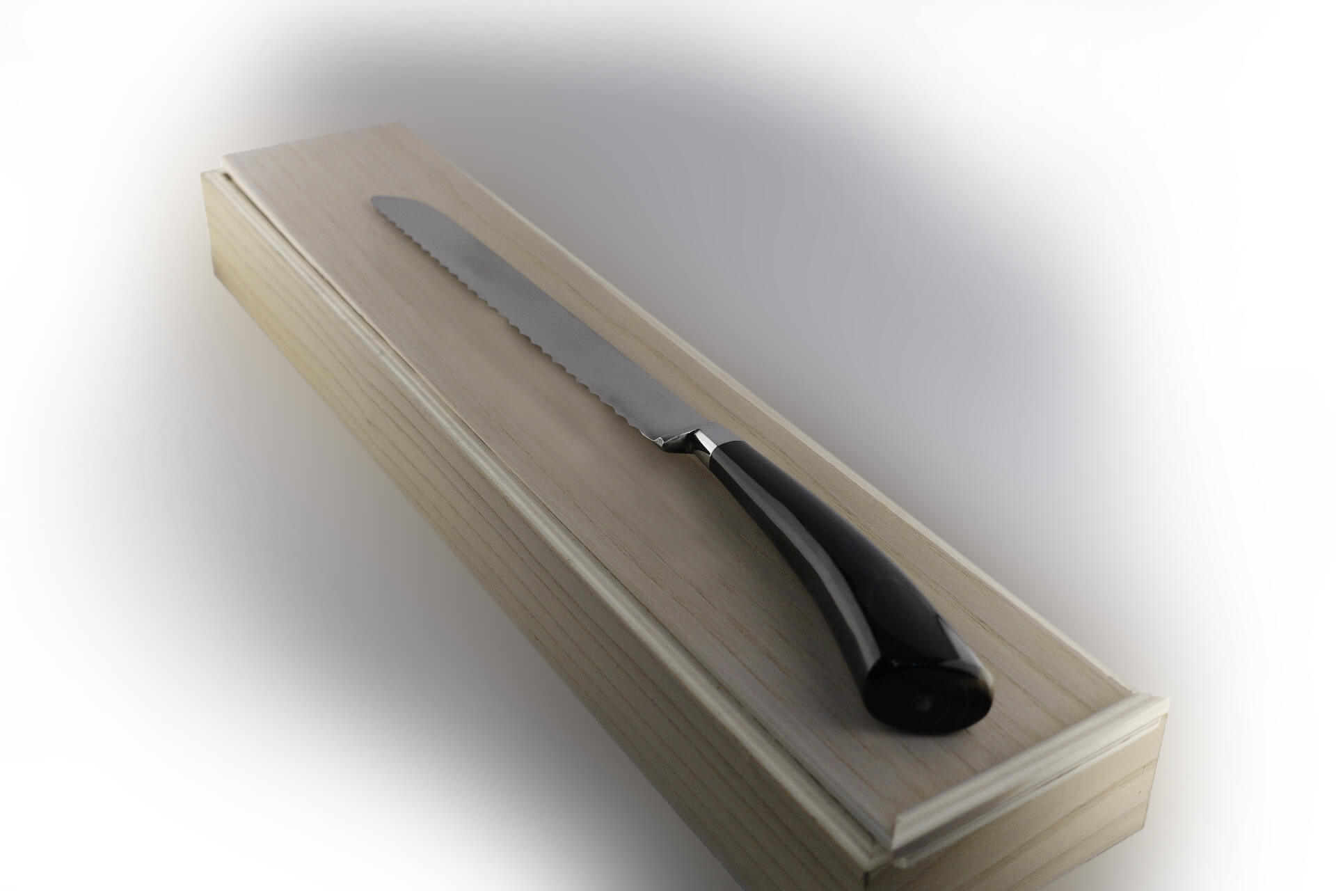 Knife In Forged Steel Handmade In Italy This Bread Knife