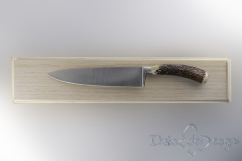carving knife, deer