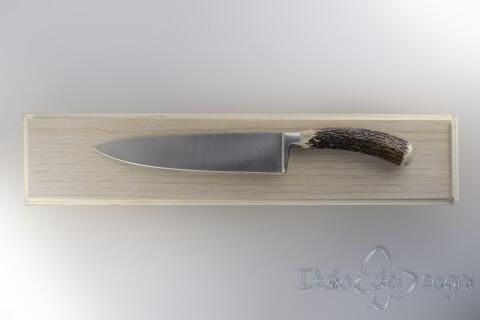 Couteau tranchant cerf