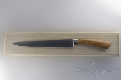 Couteau à rôti d'olivier
